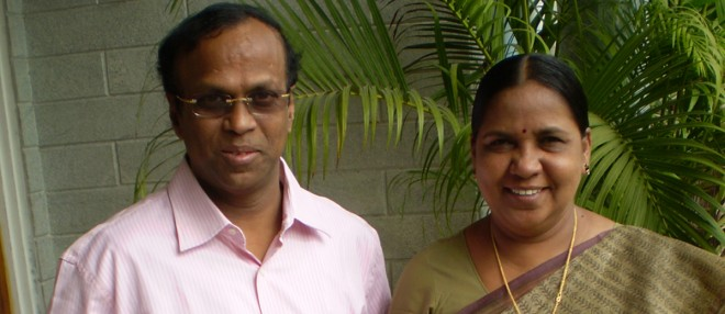 Cletus and Amalie Babu - Founders of Social Change and Development