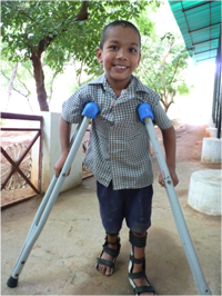 JebaKumar is a child who has benefitted from the care from Anbu Illam