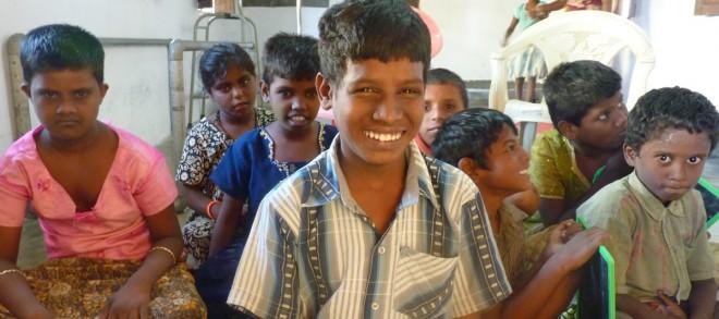 Community based rehabilitation in communities in Tamil Nadu