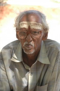 Mr Elanga - a farmer in Tuticorin supported by SCAD