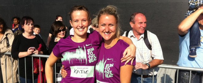 Katie Allen and Sophie Blackman 'Run to the Beat' to fundraise for SCAD
