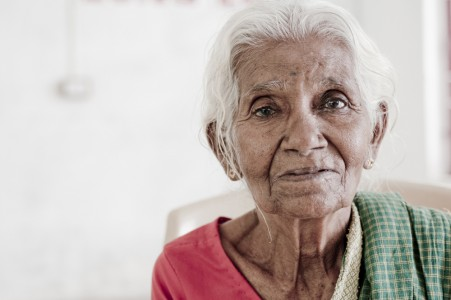 Patchiammal is an elderly woman supported by SCAD in Tamil Nadu