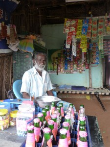 Steven from the Leprosy community opens a new shop