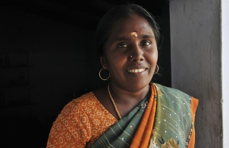 Somu is a woman and a local leader