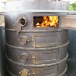 The first fire in the pyrolysis unit